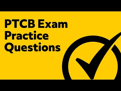 PTCB Exam Review Questions - YouTube