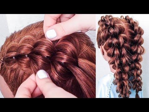 Простые и Красивые Прически для Девочек. Прическа на 1 сентября. Back to School Hairstyles