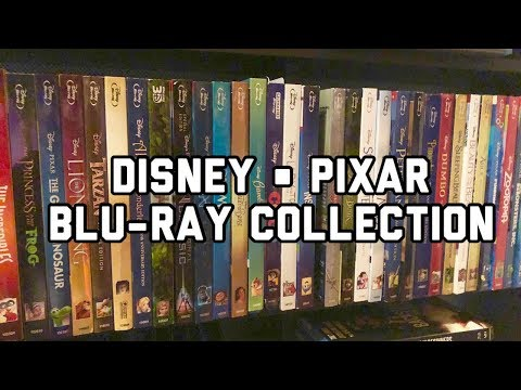 My Disney/Pixar Blu-rays! | Collection Spotlight