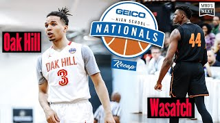 2019 GEICO Nationals: Cole Anthony returns to NY, leads Oak Hill past Wasatch