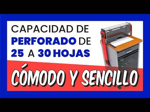 Perforadora peines intercambiables SUPER 450