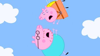 Peppa Pig Official Channel   Mummy Pig is the Bravest Mummy - the Parachute Challenge