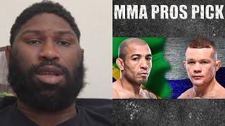 MMA Pros Pick - Jose Aldo vs. Petr YanI #UFC251 #UFCFightIsland