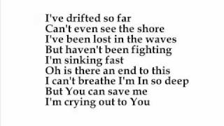rescue me by inhabited with lyrics