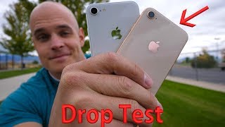 iPhone 8 DROP TEST!! - 'Most Durable Glass' Ever?