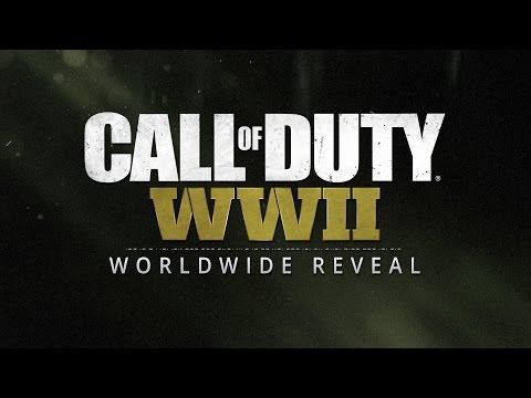 Official Call of Duty®: WWII Reveal Livestream thumbnail