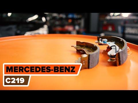 Cómo cambiar las Zapatas del freno de mano MERCEDES-BENZ CLS C219 Tutorial | Autodoc