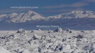 流氷の動画素材, 4K写真素材