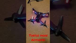 Dji Fpv Turtle Mode Test | Amazing Drone