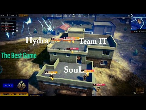 SouL vs HYDRA vs IT | The Best Game of PMCO India Finals
