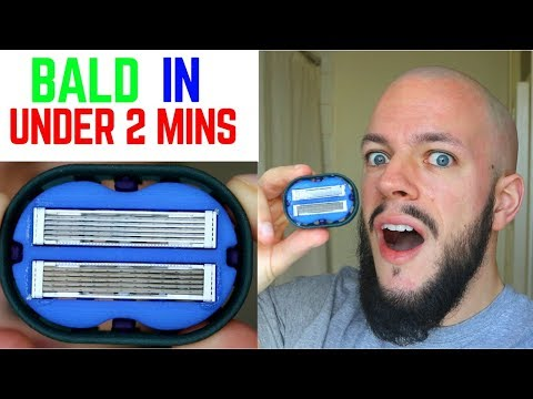 Is This THE BEST WAY TO SHAVE YOUR HEAD BALD? OmniShaver TEST & REVIEW