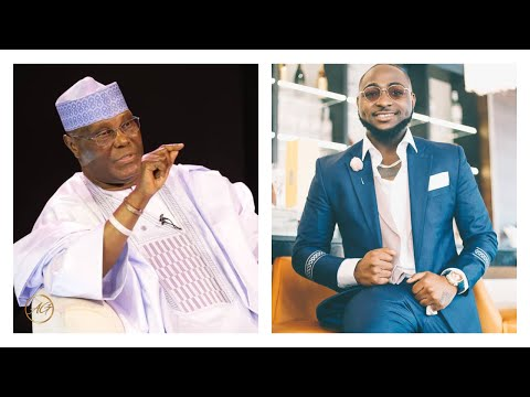 Davido Endorse Atiku For President & Majority Of His Fans Are Not Happy