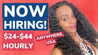 Up to $1200+ WEEKLY, HIGH PAYING NON PHONE Work From Home Job