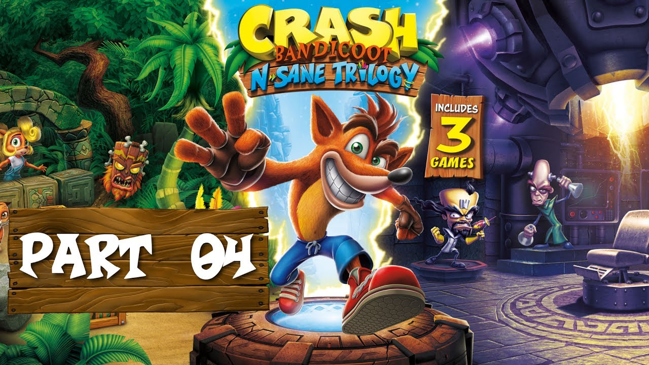 Crash Bandicoot N. Sane Trilogy – 04 – Eisbären Party