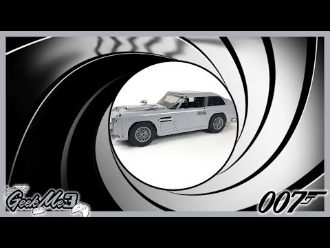 Vidéo LEGO Creator 10262 : James Bond Aston Martin DB5
