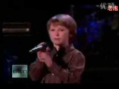 7歲神童的震撼演唱