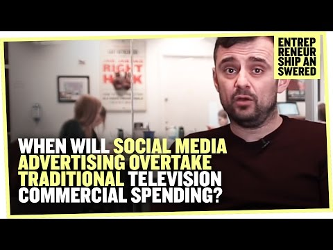 When Will Social Media Advertising Overtake Traditional Television Commercial Spending?