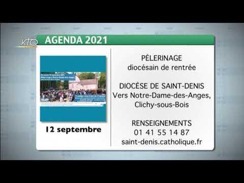 Agenda du 6 septembre 2021