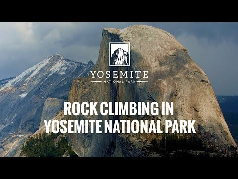 Rock Climbing in Yosemite National Park