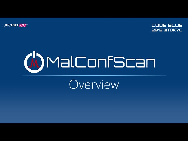 MalConfScan_Overview