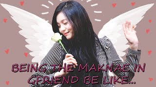 [GFRIEND] UMJI Being The Maknae in Gfriend Be like..