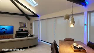 Smart Home Blinds integrated with Control4 Automation