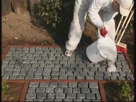 Joint de pavé ROMPOX® - D2000 : Le mortier de joints moderne pour pavés par Romex