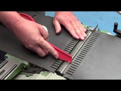 MBM Come cambiare i coltelli Tersa