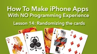 How To Make an App - Ep 14 - Randomizing the cards (Xcode 7, Swift 2, iOS 9)