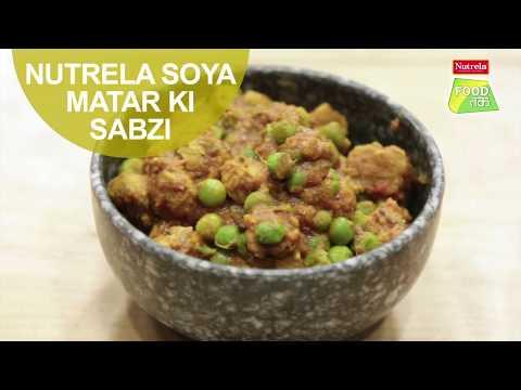 Nutrela Soya Matar Ki Sabzi