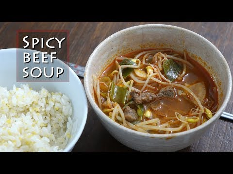 Spicy beef soup, 소고기국