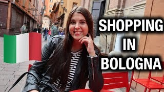 Shopping in Bologna - Life on Exchange