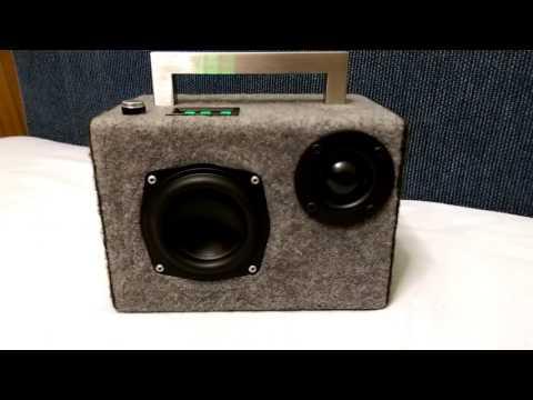 DIY Boombox V2 - Bass Test - Pedrodemio - Video - Free MP3
