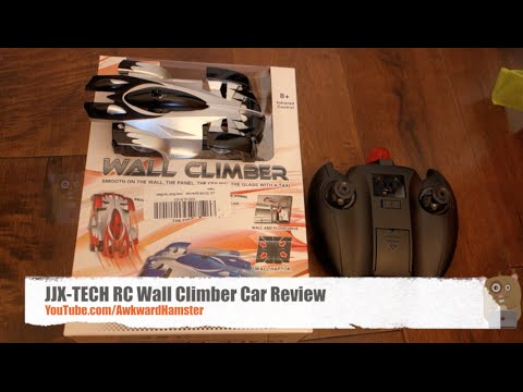 JJX-TECH Remote Controlled RC Wall Climber Car Review
