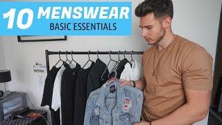 10 MENSWEAR BASIC ESSENTIALS | Building A Minimal Wardrobe | Mens Fashion 2020