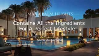 Emaar Palm Heights 3BHK Flats Gurgaon @9266850850