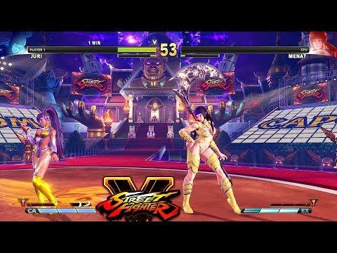 Street Fighter V PC AE mods - Rainbow Menat by Khaledantar666