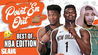 NBA Stars CALLING EACH OTHER OUT! The BEST Moments! ⭐   SLAM Point 'Em Out
