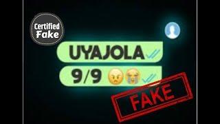 Uyajola 99 Series Is Fake!
