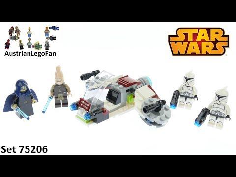 Vidéo LEGO Star Wars 75206 : Pack de combat des Jedi et des Clone Troopers