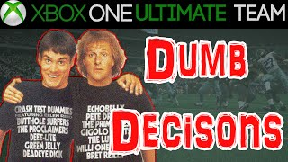 Madden 15 - Madden 15 Ultimate Team - DUMB DECISIONS | MUT 15 Xbox One Gameplay