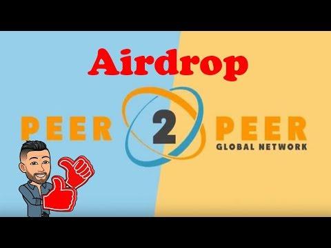 Ganhe ~R$46 Reais no Airdrop da plataforma P2P Global Network ! Easy.