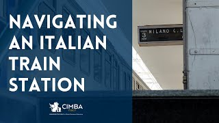 How to Navigate an Italian Train Station (Virtual Tour)