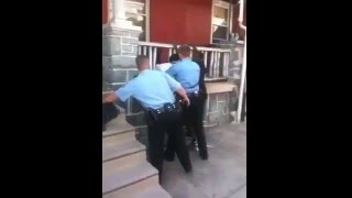 POLICE BRUTALITY - Cop Assaults Man, Then Calls Him A Pussy
