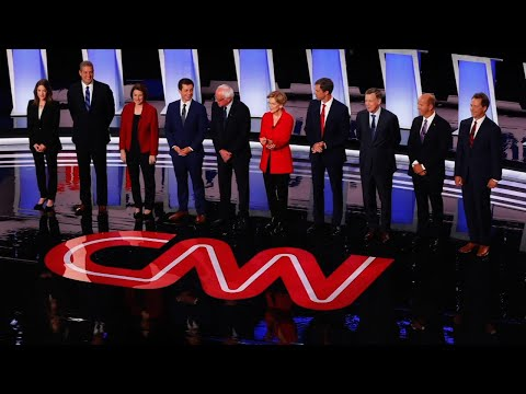 The Democratic candidates for president clash in a debate that laid bare the struggle between a call for revolutionary policies and a desperate desire to defeat President Donald Trump. Night two Wednesday in Detroit promises more of the same. (July 31)