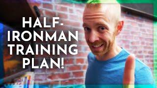 My new HALF-IRONMAN 70.3 triathlon training plan OVER A WEEK