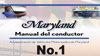 2017 Manual del conductor de Maryland parte 1