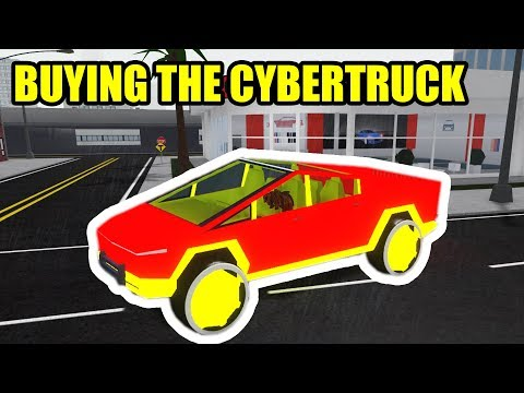 BUYING the TESLA CYBERTRUCK... | Roblox Vehicle Simulator