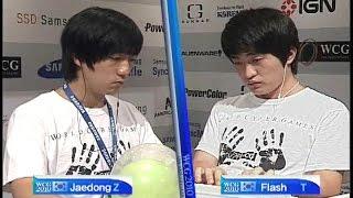 이제동 Vs 이영호 미국에서 펼쳐지는 리쌍록, 화끈한 200물량싸움 ( Jaedong Vs Flash )