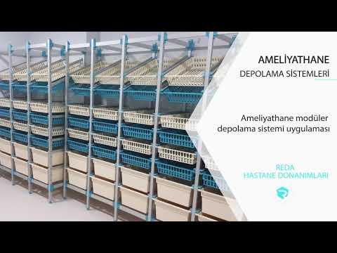 Özel İzmir Sağlık Hastanesi Modüler Sistem Depolama Projesi